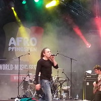 Photo taken at Afro Pfingste Halle 53 by Cristina R. on 5/17/2013