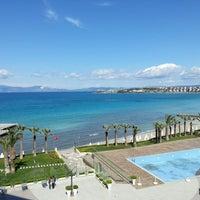 4/22/2015 tarihinde Demet S.ziyaretçi tarafından Boyalık Beach Hotel & SPA'de çekilen fotoğraf