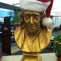 Photo taken at Franklin Public Library by Duane D. on 12/6/2012