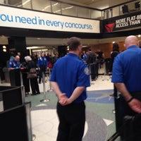 Photo taken at TSA Checkpoint C by Rawleigh H. on 1/20/2015