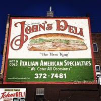 Photo taken at The Original John's Deli by The Original John's Deli on 4/8/2014