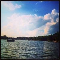 Photo taken at Holiday Shores Lake by Jessica on 8/31/2014