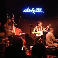 Photo taken at Dakota Jazz Club & Restaurant by Lindsey W. on 10/19/2012