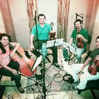 Photo taken at Dsan Promusic Estúdio by Diógenes D. on 3/22/2014