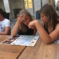 Photo taken at Cafè De La Plaça by Mathilde H. on 7/28/2017