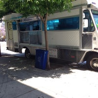 Photo taken at San Buena Taco Truck by Miguel J. on 6/9/2014
