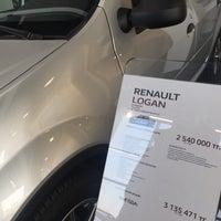 Photo taken at Renault автоцентр Астэк by Kairat S. on 11/22/2015