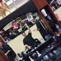 Photo taken at Pro haircutters by ⚔️Dustin Guzman⚔️ on 12/30/2014