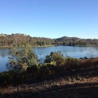 Photo taken at Lake Miramar Reservoir by Marla V. on 10/16/2012