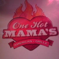 Photo taken at One Hot Mama's by Amy C. on 10/6/2012