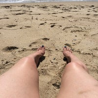 Photo taken at Popponesset Beach by Nyb on 8/10/2014