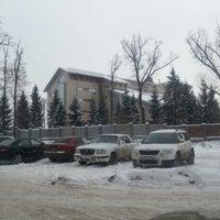 Photo taken at Административный комплекс ООО «Газпром трансгаз Уфа» by руслан ш. on 12/18/2014