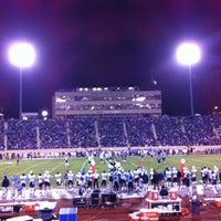 Photo taken at Brooks Field at Wallace Wade Stadium by Dawa T. on 10/21/2012