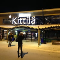 Photo taken at Kittilä Airport (KTT) by Антон Д. on 1/3/2013