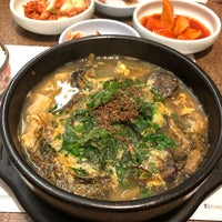 Photo taken at Seoul Restaurant (양평 선지해장국) by Crystal on 11/14/2017