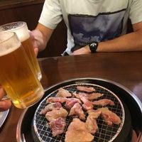 Photo taken at しちりん炭火焼 鉄人 下北沢店 by ワロカス on 7/20/2016