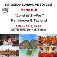 Photo taken at ODTÜ Ege Mezunlar Derneği by E S R A Y U R D A K O N A R 🎈 . on 10/9/2014