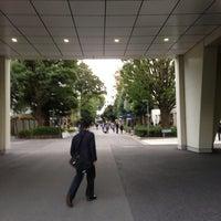 Photo taken at 上智大学 メインストリート by Yuichi I. on 10/22/2013