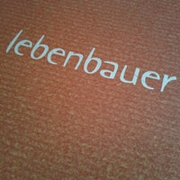 Photo taken at Vollwertrestaurant Lebenbauer by sabrina o. on 2/12/2013