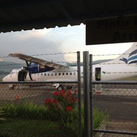 Photo taken at PT.Vale  Airport Sorowako by Julio Erwin T. on 8/24/2013