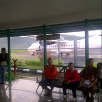 Photo taken at PT.Vale  Airport Sorowako by Julio Erwin T. on 8/15/2013