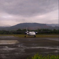 Photo taken at PT.Vale  Airport Sorowako by Julio Erwin T. on 8/11/2013