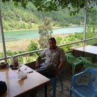 Photo taken at Şaban'in Yeri Balık Karacaören Barajı by Ahmet T. on 5/31/2014