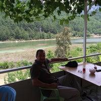 Photo taken at Şaban'in Yeri Balık Karacaören Barajı by Ahmet T. on 6/7/2014