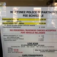 Photo taken at Martinez Police Department by Michelle V. on 12/21/2017