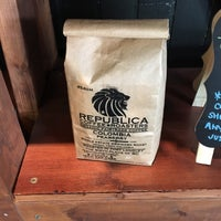 Photo taken at Republica Coffee Roasters by Karl L. on 9/16/2017