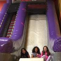 Photo taken at Bounce U by Mona L. on 3/5/2017