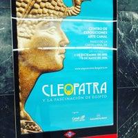 Photo taken at Metro Ciudad Universitaria by Youssef S. on 1/19/2016