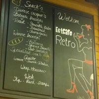Photo taken at Eetcafé Retro by Bob D. on 10/19/2013
