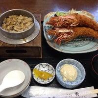 Photo taken at お食事処 秀 by Sawa on 9/9/2014