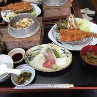 Photo taken at お食事処 秀 by Sawa on 10/10/2015
