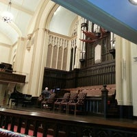 Photo taken at First United Methodist Church by Crawford A. on 11/8/2013