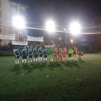 Photo taken at Çameli Spor Klübü Halisaha by Cihangir Ş. on 6/3/2015