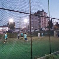 Photo taken at Çameli Spor Klübü Halisaha by Cihangir Ş. on 6/24/2014