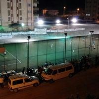 Photo taken at Çameli Spor Klübü Halisaha by Cihangir Ş. on 9/2/2014