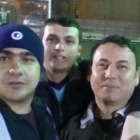 Photo taken at Çameli Spor Klübü Halisaha by Cihangir Ş. on 4/2/2015