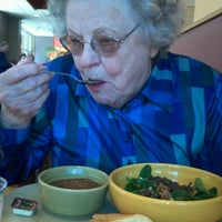 Photo taken at Panera Bread by Bev S. on 1/28/2013