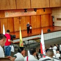 Photo taken at Liceo Salazar y Herrera by Eder A. on 10/5/2015
