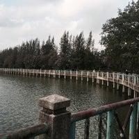 Photo taken at ริมบึงเมืองทอง by muitie🐰 on 3/9/2017