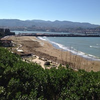 Photo taken at Ascensor De Ereaga by Hector A. on 3/8/2014