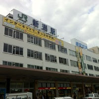 Photo taken at Niigata Station by Jun M. on 10/12/2012