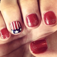 Photo taken at True Hollywood Nails by Emma B. on 7/1/2014