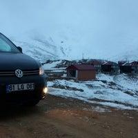 Photo taken at Zigana Kardak Tesisleri by Berkan Ş. on 12/28/2014