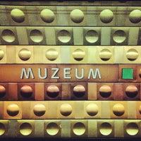 Photo taken at Metro =A= =C= Muzeum by Alex ⚡. on 11/1/2012