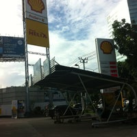 Photo taken at Shell by Eddie C. on 8/1/2013