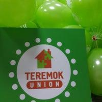 Photo taken at Teremok Union by Ksu K. on 4/11/2014